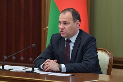 Премьер Белоруссии назвал программу оппозиции «кошмарным сном»