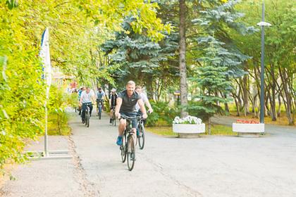 В российском городе начали бороться свелосипедистами