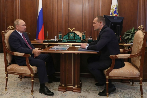 Путин оценил онлайн-сервис по оформлению земли