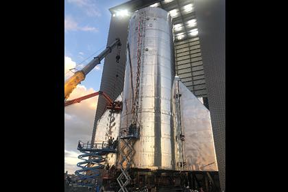 Маск опубликовал фото корабля SpaceX