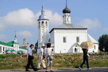 Названы причины отсутствия туристов вроссийских городах