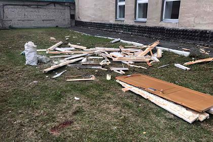 Рабочие вроссийском городе выбросили дверь вокно иубили мужчину