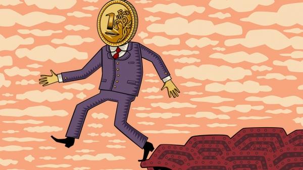Доллар и евро второй раз в течение октября рекордно укрепляются к рублю