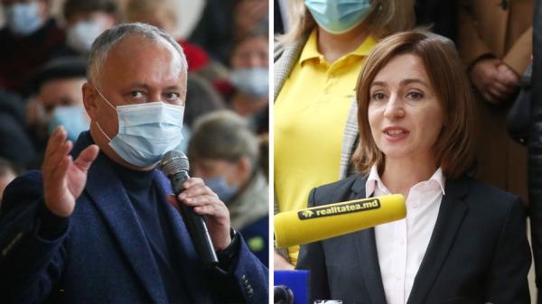 Додон или Санду: 1 ноября в Молдавии состоятся президентские выборы