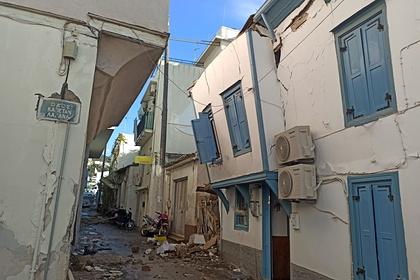 Двое детей погибли вГреции при землетрясении