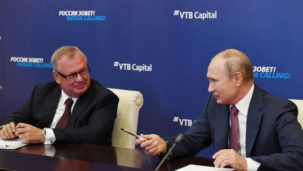 Костин рассказал Путину, что ВТБ привлек 850 млрд рублей в частные концессии в инфраструктурных проектах