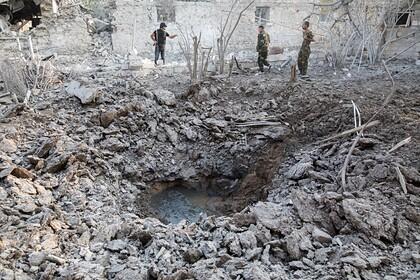 Армения обвинила Азербайджан вбомбежке Мартакерта вКарабахе